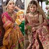 "Lovely ""Elaheh"" collection by Farah Talib Aziz with Ayeza Khan"