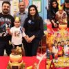 Pakistani Actor Ahmed Ali Butt Celebrate his Son Azaan Birthday Images