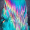 10 BEST IDEAS RAINBOW HAIR COLOR FOR GIRLS