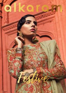 Alkaram Studio Festive Lawn Eid Collection 2018 (1)