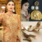 Ayeza Khan at the launch of the launch of the Alkaram studio festive collection at Lucky one mall