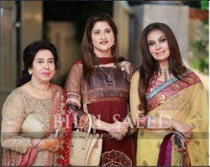 Beautiful Sadia Imam in Recent family wedding