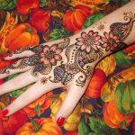 Best Glitter Henna Designs For Hands 2018