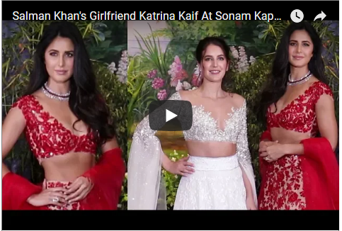 Katrina Kaif with her sister Isabelle Kaif at Sonam Kapoor's wedding