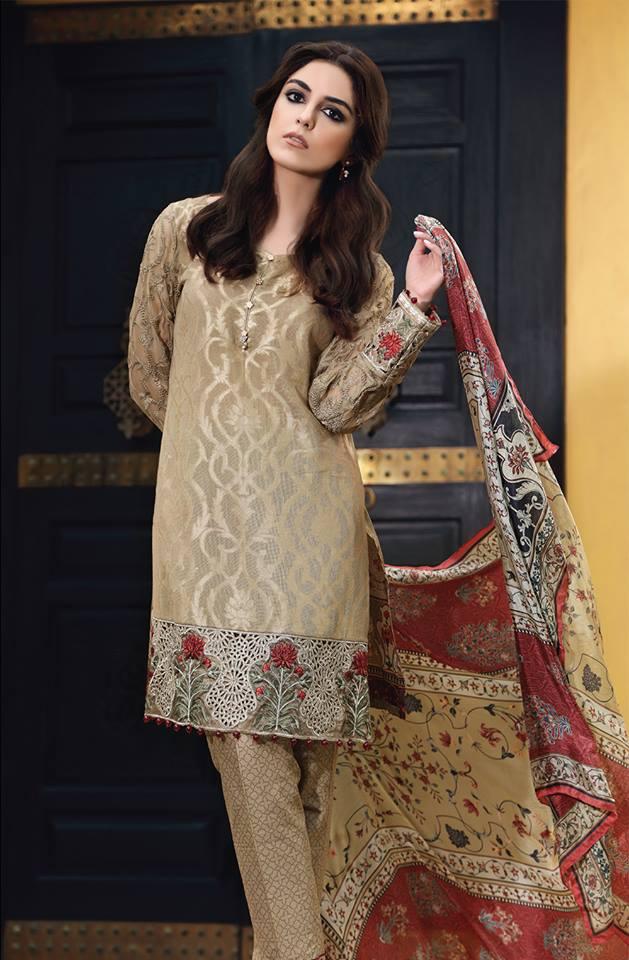 1652ceaa745 Maria B Eid Collection 2018 Luxurious luxury gauze Eid dresses   lawn