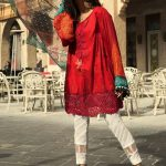 Maria B Lawn Eid Dresses Collection 2018 (14)