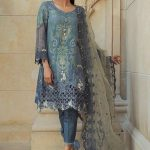 Maria B Lawn Eid Dresses Collection 2018 (23)