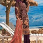 Asim Jofa Luxury Dresses Chiffon Collection 2018 (10)