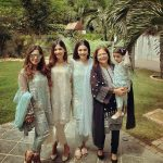 Celebrities with their kids on the 2nd day of Eid (20)