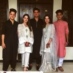 Celebrities with their kids on the 2nd day of Eid (65)