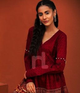 Girls Eid Festive Latest Trendy Dresses 2018 (6)