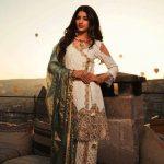 Girls Eid Festive Latest Trendy Dresses 2018 (9)