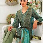 Gul Ahmed Luxury Eid Festival Dresses 2018 (9)