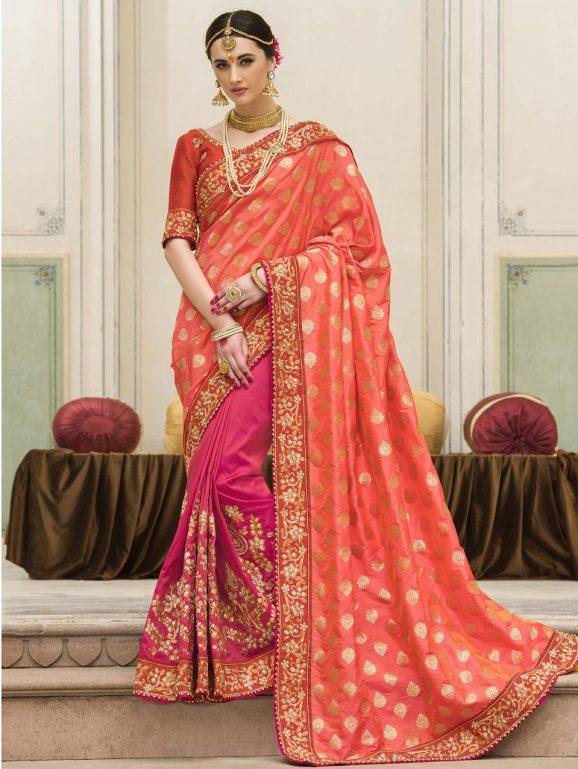 Indian Wedding Saree Trends 2018 12 Wwwmagazinepkcom