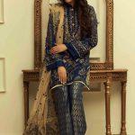 Manara Kurti Pajama Collection 2018 By Maria Asif Baig (3)