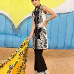 Saira Shakira First Look Crimson Luxury Lawn 2018