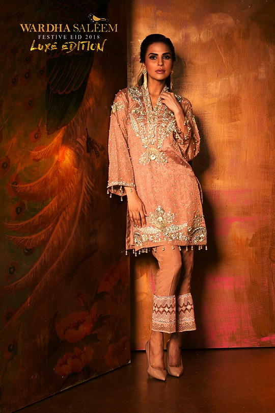 Wardha Saleem Luxury Eid Dresses Collection 2018 (1)