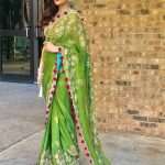 Ayesha Omar traditionally dressed at an event in the United States (11)
