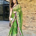 Ayesha Omar traditionally dressed at an event in the United States (3)