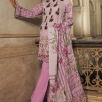 Embroidery Lawn Collection 2018 By Warda Kashmiri (5)