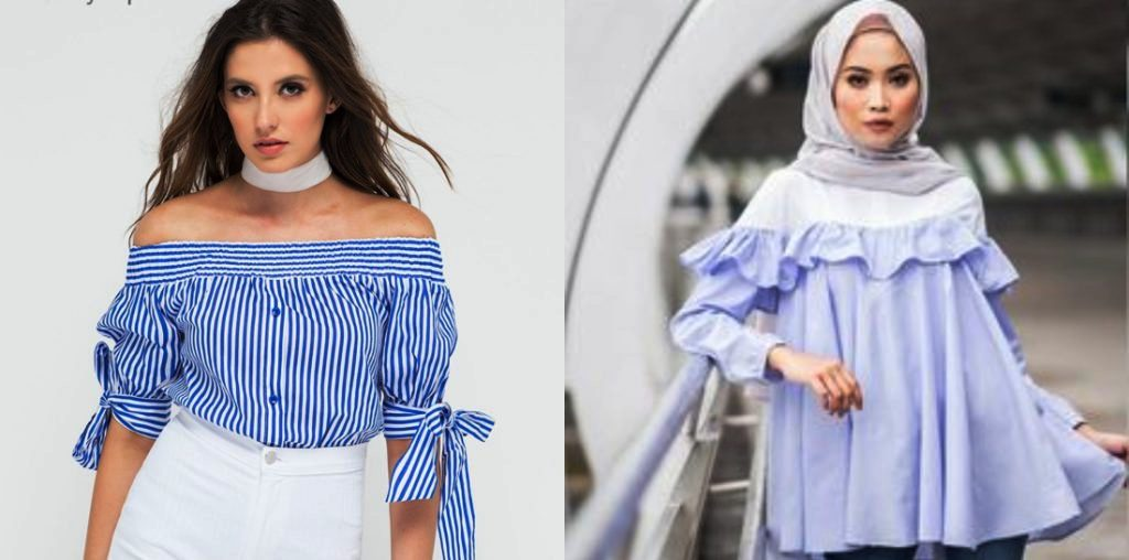 GIRLS HOW TO WEAR OFF SHOULDER TOPS HALAL WAY (1)