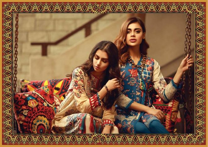 f2d08c37fb Mid-Summer Colorful Suits 2018 New Ideas By Khaadi (13) – MagazinePk