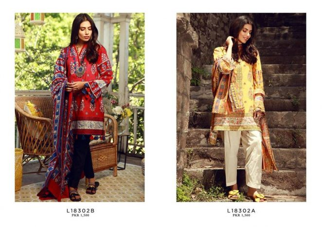 6425ec5576 Mid-Summer Colorful Suits 2018 New Ideas By Khaadi (17) | www ...