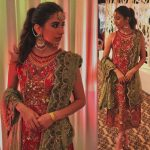 Syra Shahroze & her Sister Palwasha Yousaf at Friend Wedding (18)