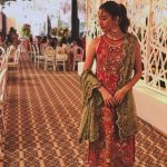 Syra Shahroze & her Sister Palwasha Yousaf at Friend Wedding (5)