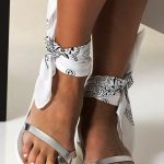 Toe Loop Flats Fashion In Summers 2018 (1)