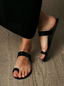 Toe Loop Flats Fashion In Summers 2018 (7)