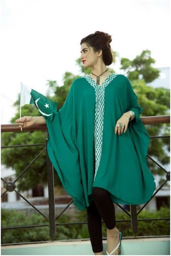 Exclusive 14 August Dresses For Pakistani Girls 2018