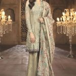 Maria B Embroidered Dresses Collection 2018 (2)