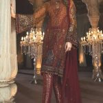 Maria B Embroidered Dresses Collection 2018 (8)