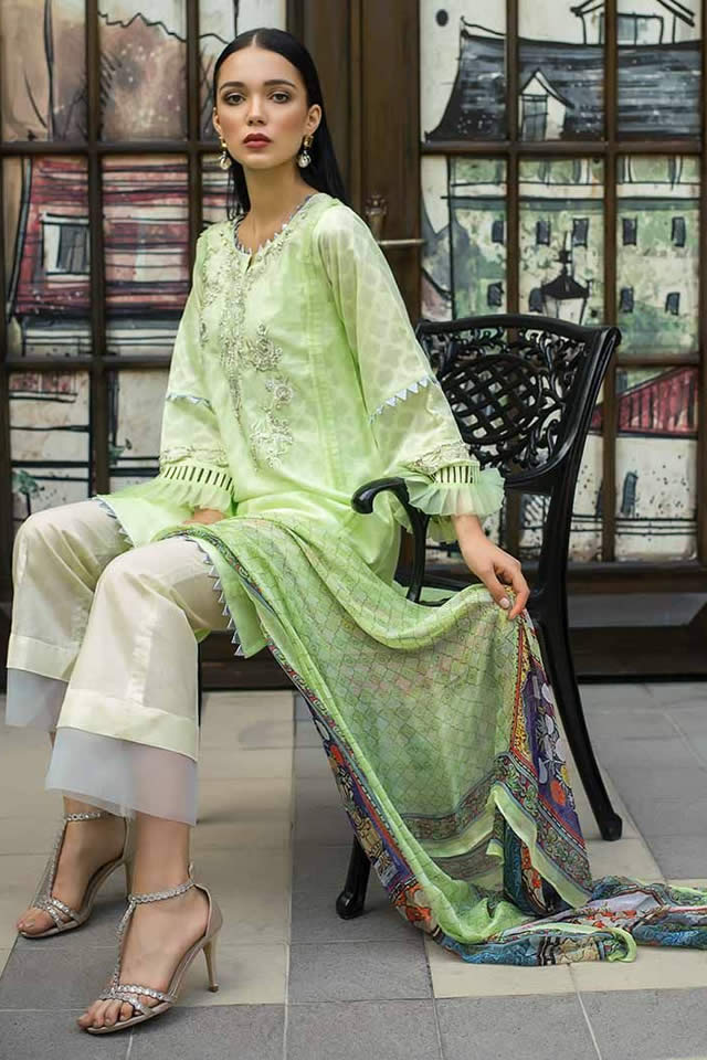 Gul Ahmed Formal unstitched Collection 2019 (2)