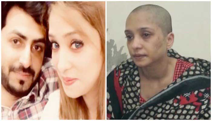 Video Lahore woman tortured after refusing to dance in front of her husband's friends 1
