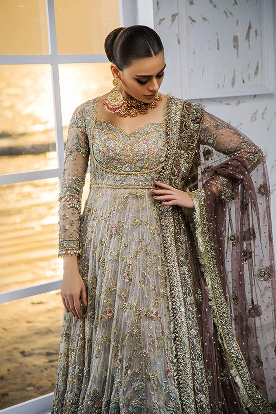 Bridal Dresses Collection Muhabbat 2019 Umsha By Uzma Babar (17)