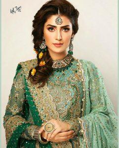 Ayeza Khan Bridal Photoshoot 2019 (1)