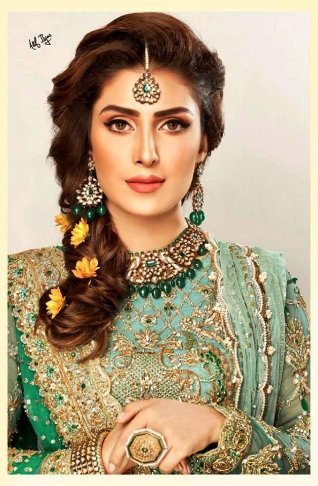 Ayeza Khan Bridal Photoshoot 2019 (5)