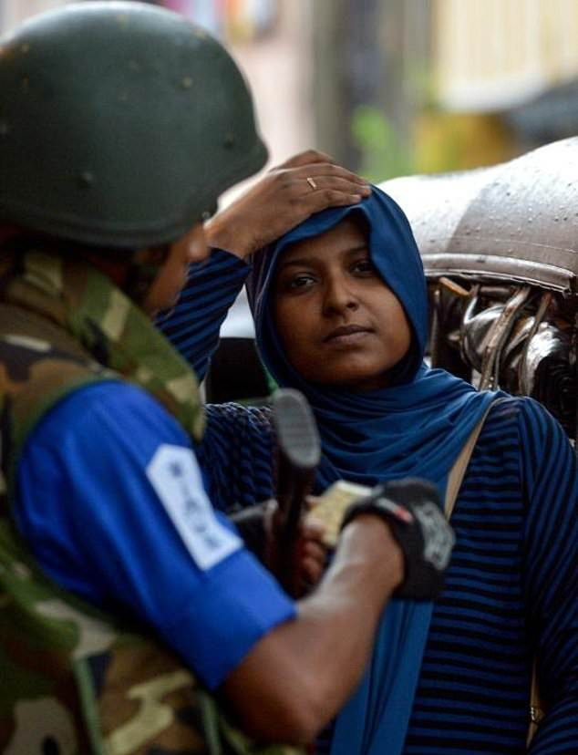 Muslim women from Sri Lanka discover out of fear (1)