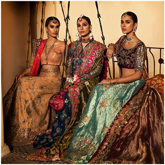 Ronaq Dreamy Bridal Couture Collection 2019 By Ammara Khan (12)