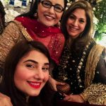Pakistani Famous Actor Saud's Wife Javeria at Wedding Event