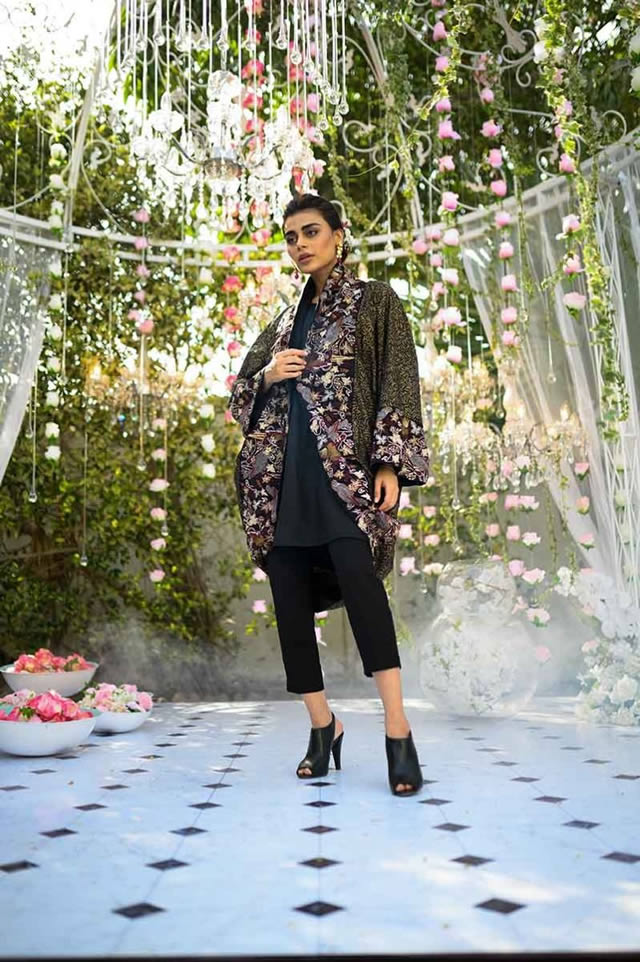 Gul Ahmed Les Morris Women's Eid Dresses Collection 2019 (1)