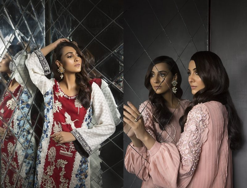 Women's Dreamy Eid luxury Pret Wear Collection 2019 By Saira Shakira (1)