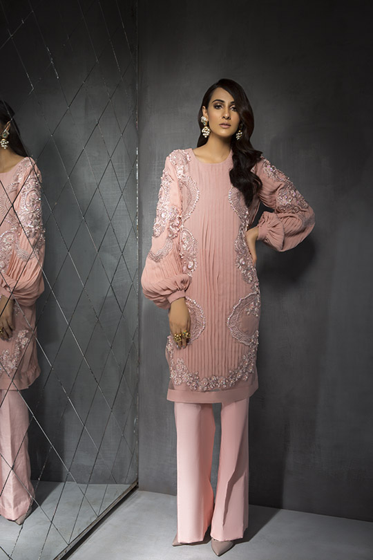 Women's Dreamy Eid luxury Pret Wear Collection 2019 By Saira Shakira (10)