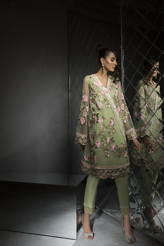 Women's Dreamy Eid luxury Pret Wear Collection 2019 By Saira Shakira (12)