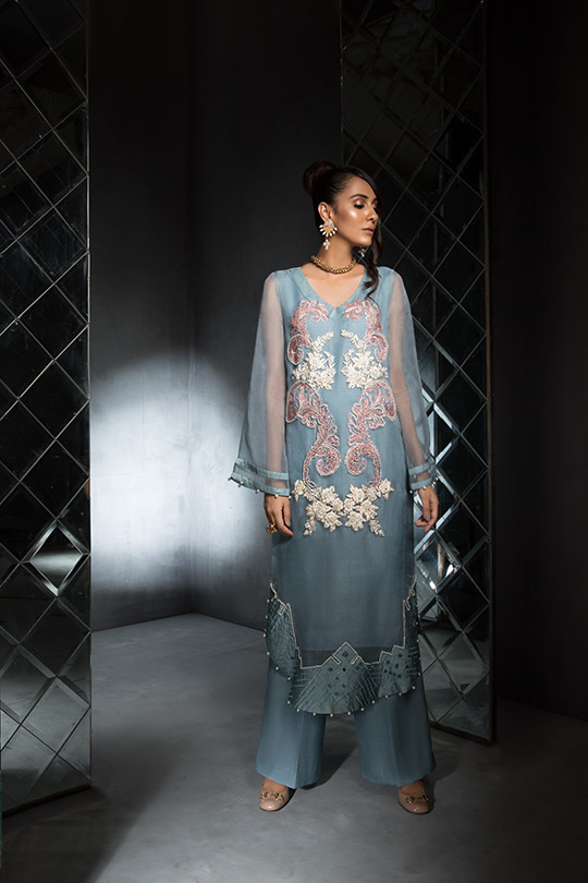 Women's Dreamy Eid luxury Pret Wear Collection 2019 By Saira Shakira (14)