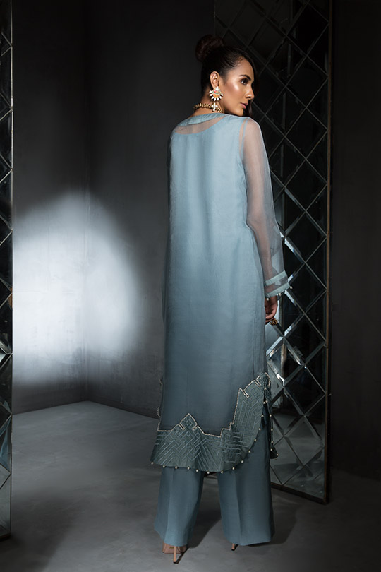 Women's Dreamy Eid luxury Pret Wear Collection 2019 By Saira Shakira (15)