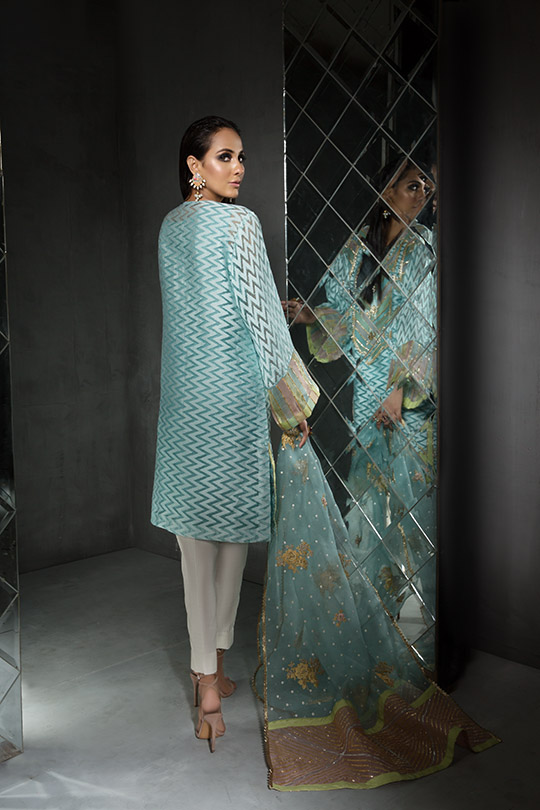 Women's Dreamy Eid luxury Pret Wear Collection 2019 By Saira Shakira (19)