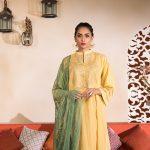 Sapphire Top 15 Women's Eid Dresses Design 2019 (2)
